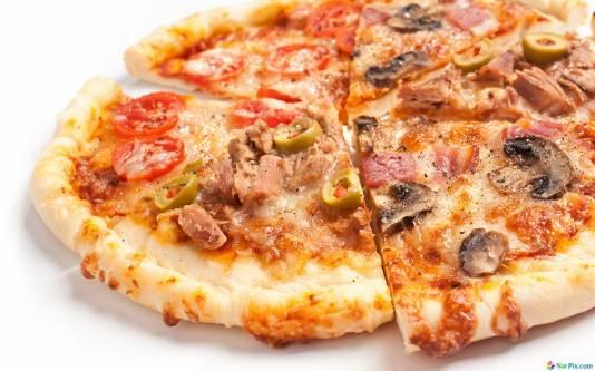 Пицца сочная рецепт фото